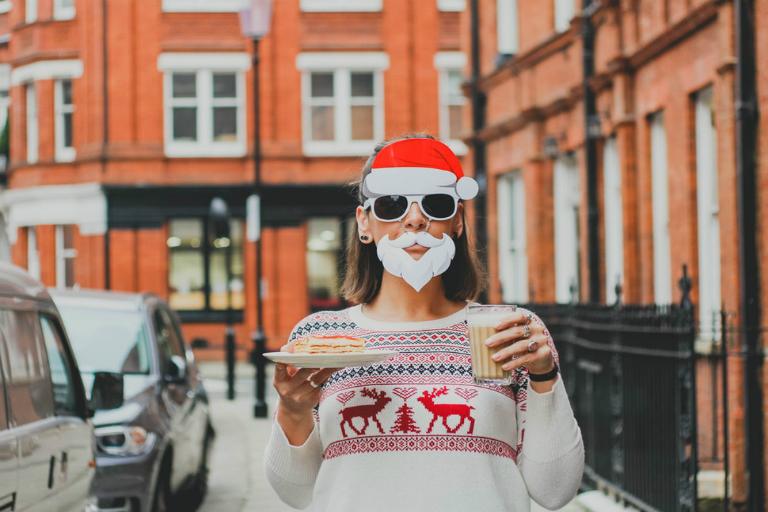 Il Natale sui social